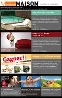 Newsletter M comme Maison