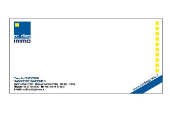 Carte de correspondance cc diag immo