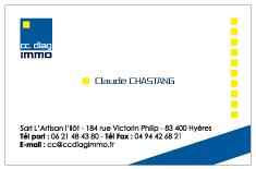 Carte de visite cc diag immo